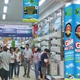 """Thị trường điện lạnh: Hàng cao cấp """"hút"""" khách"""