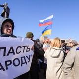 Khủng hoảng Ukraine: Đánh nhau bằng gậy bóng chày ở trung tâm Kharkov