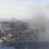 Báo Nga xác nhận tàu ngầm hạt nhân Nga bốc cháy ở Severodvinsk