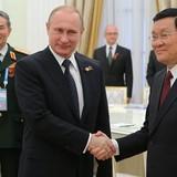 Ông Putin cảm ơn Chủ tịch nước Trương Tấn Sang vì dự sự kiện ở Moscow
