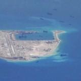 Trung Quốc đã rút pháo khỏi đảo nhân tạo ở Biển Đông