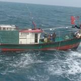 Cảnh sát Biển yêu cầu tàu cá nước ngoài rời vùng biển Việt Nam