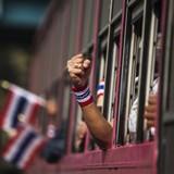 Thái Lan: 14 sinh viên biểu tình chống chính phủ có thể bị 7 năm tù