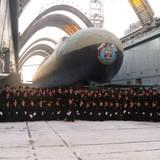 Siêu tàu ngầm hạt nhân Nga sắp lên đường tuần tra chiến đấu
