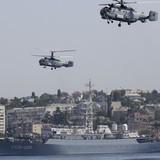 Gần 20 đội tàu Hải quân Nga diễn tập báo động
