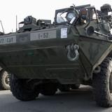 """Lithuania muốn mua xe bọc thép Mỹ vì lo """"hoạt động xâm lăng của Nga"""""""