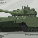 Khám phá sức mạnh xe tăng T-14 Armata mới ra đời của Nga