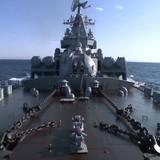 Tàu ngầm Thổ Nhĩ Kỳ theo dõi tuần dương hạm Nga ở biển Syria