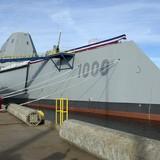"""Tàu khu trục 4,4 tỷ USD lớn nhất trong lịch sử Hải quân Mỹ """"ra lò"""""""