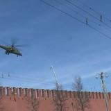 """Máy bay """"lạ"""" bí mật bay trên điện Kremlin"""