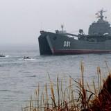 Hạm đội Thái Bình Dương của Nga dồn dập tập trận