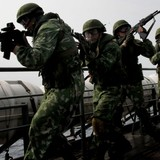 Thủy quân lục chiến Nga tập trận chống cướp biển