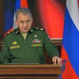 Bộ trưởng quốc phòng Nga đến Crimea kiểm tra huấn luyện chiến đấu