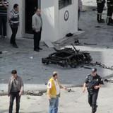 Trụ sở cảnh sát Thổ Nhĩ Kỳ bị đánh bom, thương vong lớn