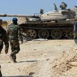 Quân đội Syria tiến về thành trì của phiên quân IS