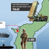 Dàn vũ khí Mỹ ở Guam nơi Triều Tiên muốn tấn công