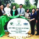 Trồng 13.000 cây xanh tại mộ Đại tướng Võ Nguyên Giáp
