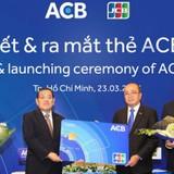 ACB phát hành thẻ tín dụng và ghi nợ ACB-JCB tại Việt Nam