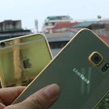Hình ảnh Galaxy S6 mạ vàng tại Việt Nam