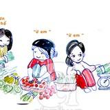 Mua sắm ăn chơi: Dân Hà Nội khác biệt Sài Gòn