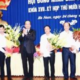 Hà Nam có 2 phó chủ tịch tỉnh mới
