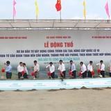 Khởi công dự án nâng cấp Quốc lộ 10 qua Hải Phòng