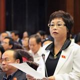 Đề nghị Quốc hội bãi nhiệm tư cách đại biểu Châu Thị Thu Nga