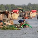 """Khai thác cát lậu làm """"biến mất"""" 42ha đất ven sông Đồng Nai"""