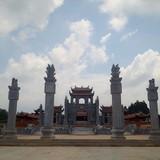"""Cận cảnh Văn Miếu """"hoành tráng"""" thờ Khổng Tử ở Vĩnh Phúc"""
