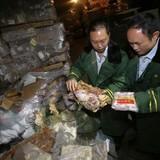 Trung Quốc bắt giữ hàng trăm tấn thịt từ 40 năm trước