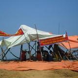 Vì sao dân dựng lều phản đối thi công dự án xử lý rác?