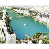 Thận trọng với sông Hàn: Đồ án của JiNa quy hoạch sông Hàn như công viên giải trí