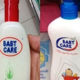 Phạt công ty kinh doanh sữa tắm Baby Care sai công thức 60 triệu đồng