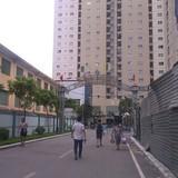 Phá dỡ các công trình không phép tại dự án 250 Minh Khai