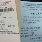 """Sốt mạng hóa đơn gửi xe """"cắt cổ"""" ở Nội Bài, Tân Sơn Nhất"""