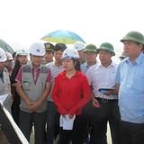 Bộ trưởng Đinh La Thăng thúc tiến độ cao tốc Hà Nội-Hải Phòng và cầu Bạch Đằng