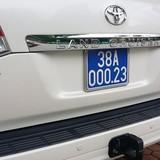 Siêu xe biển giả của Trưởng ban Khu kinh tế Hà Tĩnh, giá bao nhiêu?
