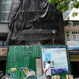 Một công trình vi phạm xây dựng tại TP.HCM vẫn được tồn tại
