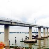 Thông xe cầu Mỹ Lợi, TP.HCM đi Tiền Giang còn 25 km