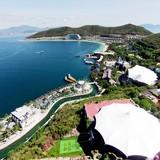 Thành phố biển đẹp nhất Việt Nam nhìn từ trên cao
