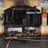 Cháy chợ Tứ Hạ thiệt hại trên 18 tỷ đồng là do chập điện