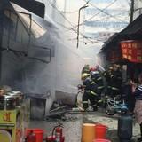 Nổ lớn ở nhà hàng Trung Quốc, 17 người thiệt mạng