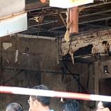 Nổ sập nhà ở Sài Gòn, hai mẹ con bé gái mất tích