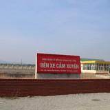 Hà Tĩnh: Bến xe tuyến huyện đang chết dần, vẫn xây bến mới