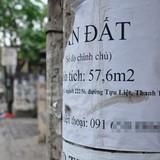 Đất thổ cư nhiều khu vực ở Hà Nội giảm giá