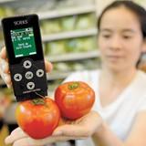 Băn khoăn máy đo thực phẩm an toàn