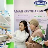 Sản phẩm Vinamilk đã chiếm được cảm tình của người dân Mátxcơva