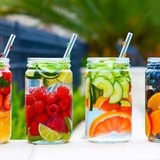 Kinh doanh nước detox kiếm tiền triệu mỗi ngày