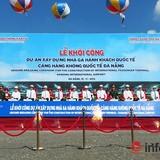 Đà Nẵng: Khởi công dự án xã hội hóa đầu tiên trong lĩnh vực hàng không