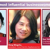 Những nữ doanh nhân quyền lực nhất Trung Quốc năm 2015